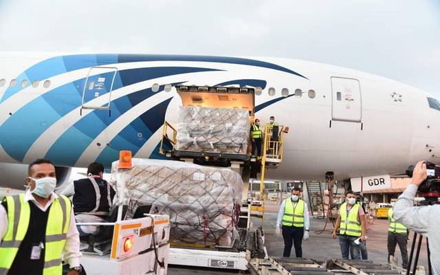 For the third time ... China gives Egypt 30 tons of medical and preventive supplies