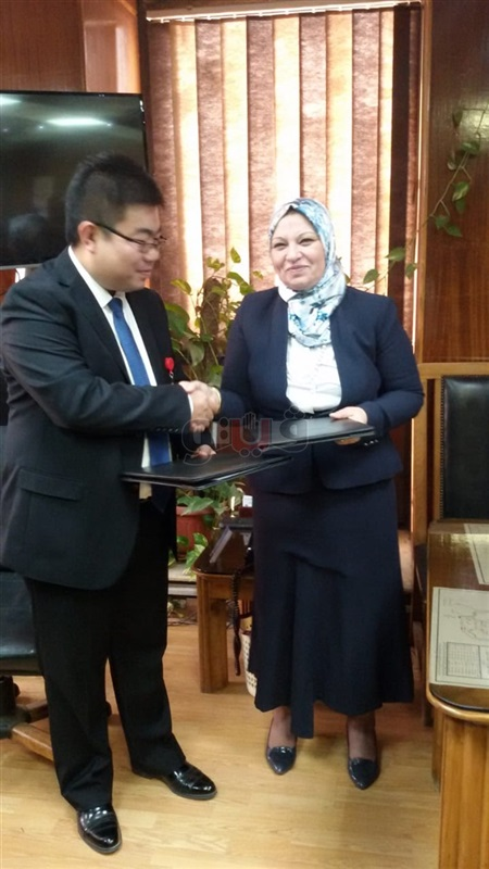 Signing the contract of establishing Al-Nahda Transformer Station in Cairo Electricity Area
