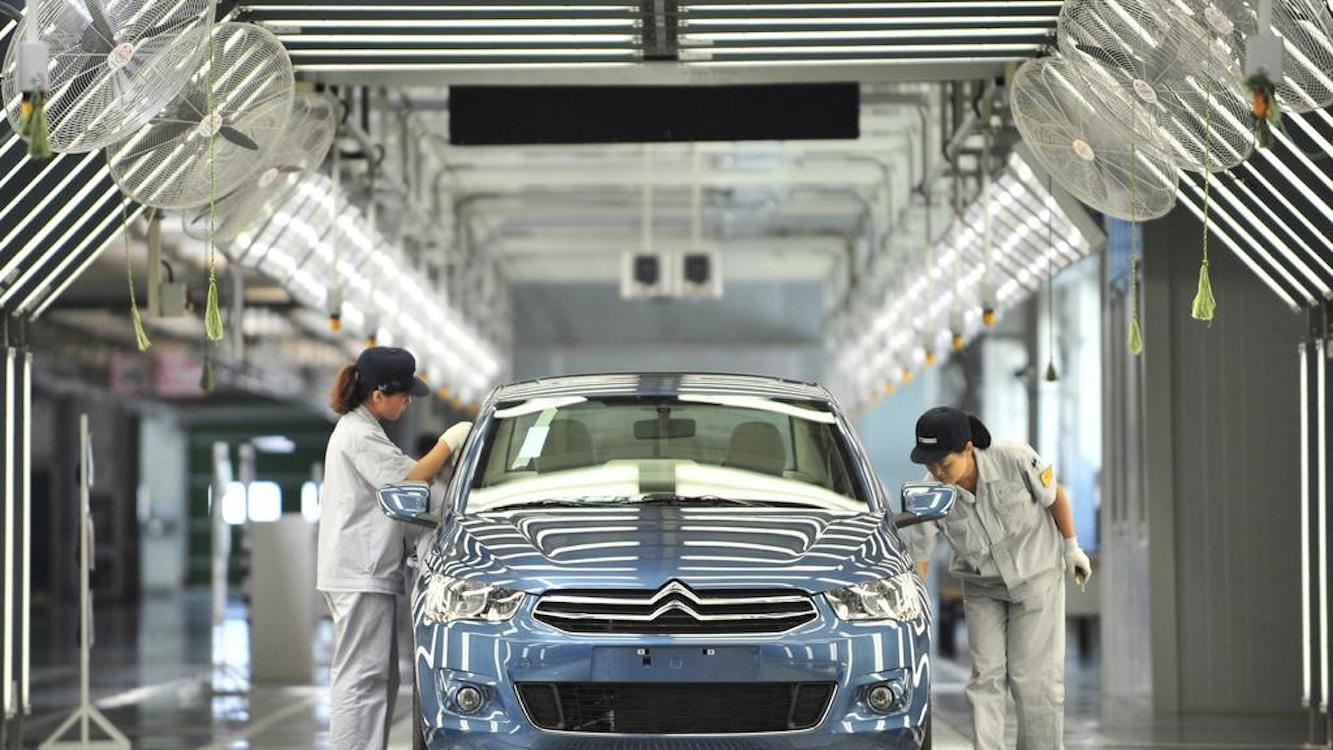 Car sales in China tumble in February at the largest monthly pace ever