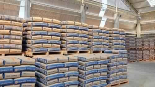 Cement and Sinai prices stabilized at EGP905 per ton