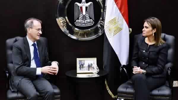 Sahar Nasr discusses with US delegation increasing investment in Egypt