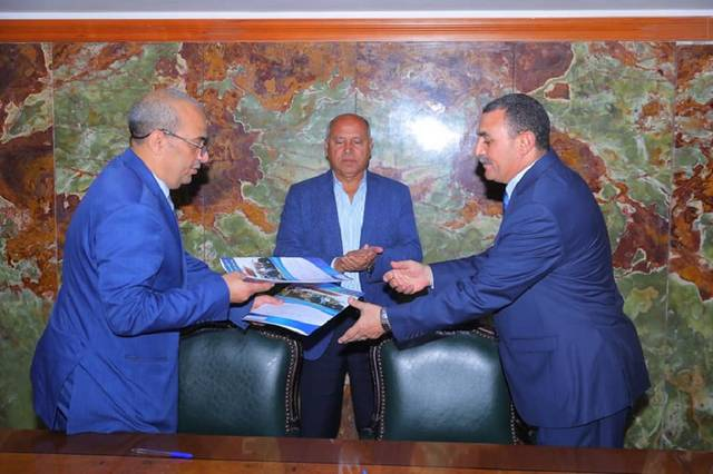 Egyptian Transport signs a contract for the management of two ferries between the ports of Egypt and Saudi Arabia