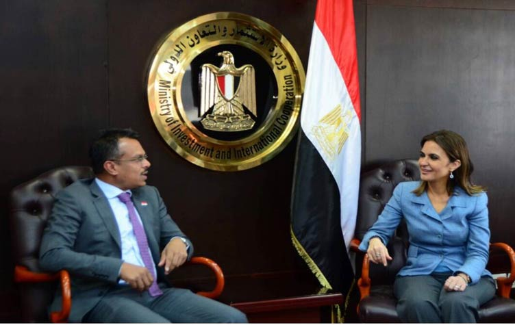 EGYPTIAN-SINGAPORE COOPERATION IN TRANSPORT AND PORTS