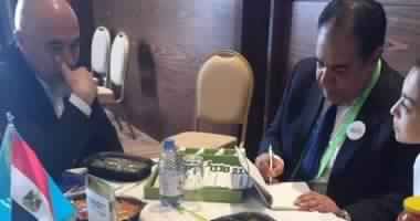 Bilateral meetings between Egyptian and Kazakh food companies on the sidelines of Expo Astana