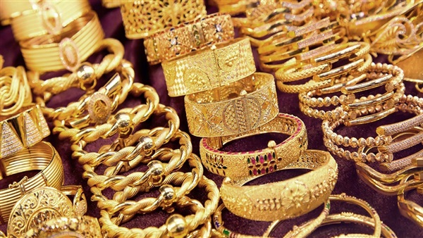 21 carat registers 675 pounds per gram .. Gold prices on Monday 28-10-2019