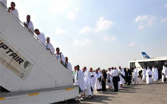 Egypt Air flies 22 flights for 4800 pilgrims