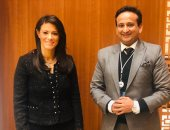 Dr. Rania Al-Mashat discusses with Chaudhary Global Investment in Tourism