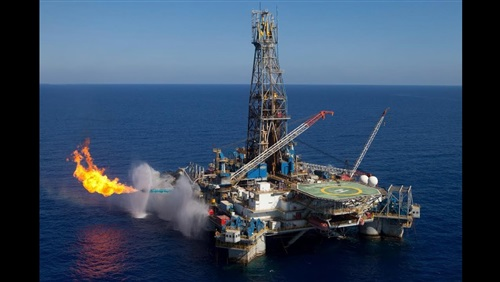 A new natural gas well in phase 9B of the Mediterranean has been put on production