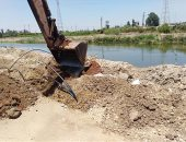 Irrigation: Removal of 29 cases of infringement on the Nile in 5 governorates