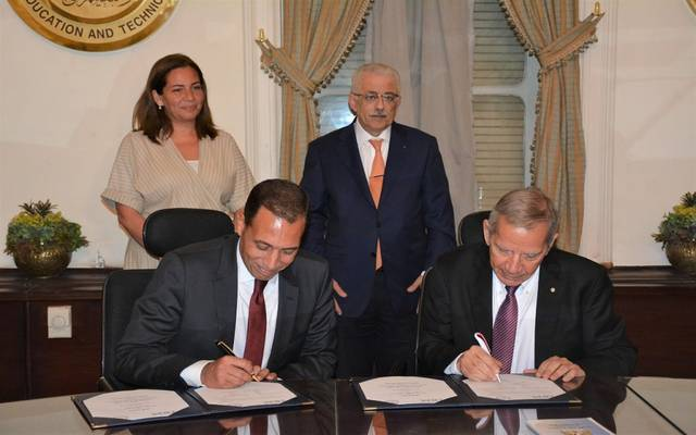 Egyptian Education launches the first technology school in cooperation with