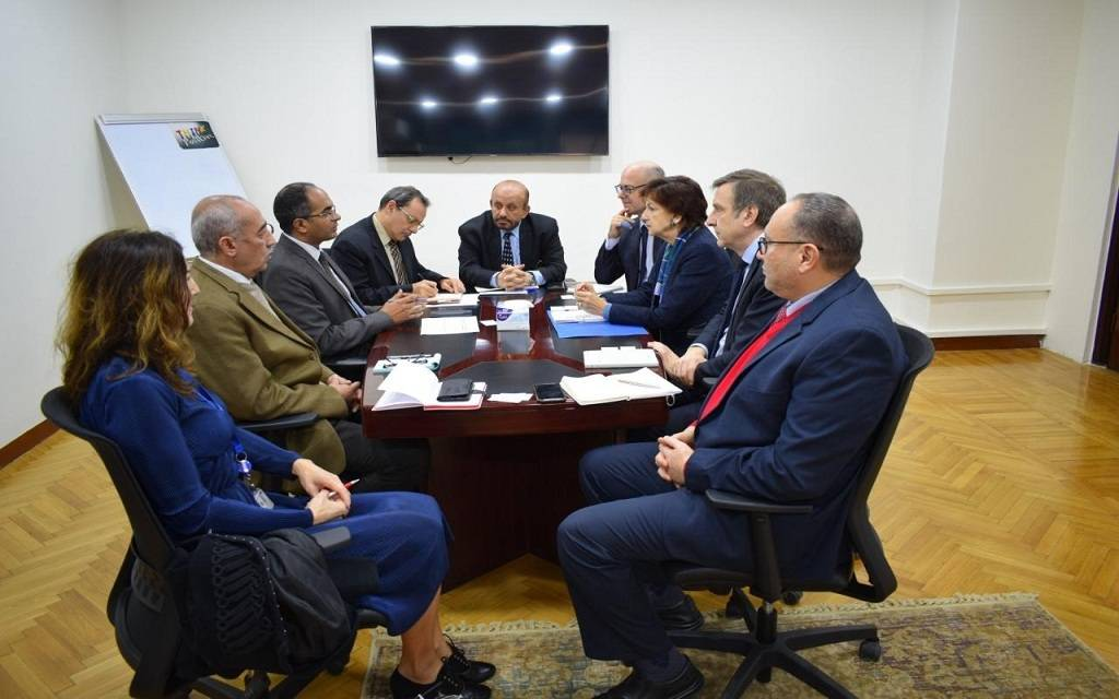 Egypt and European investment discuss cooperation in desalinating sea water