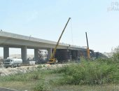 The completion of the Dekernes Bridge in Dakahlia at a cost of LE 250 million by the middle of next year