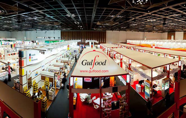 Today .. The end of the 25th session of Gulf Food Industries Exhibition,