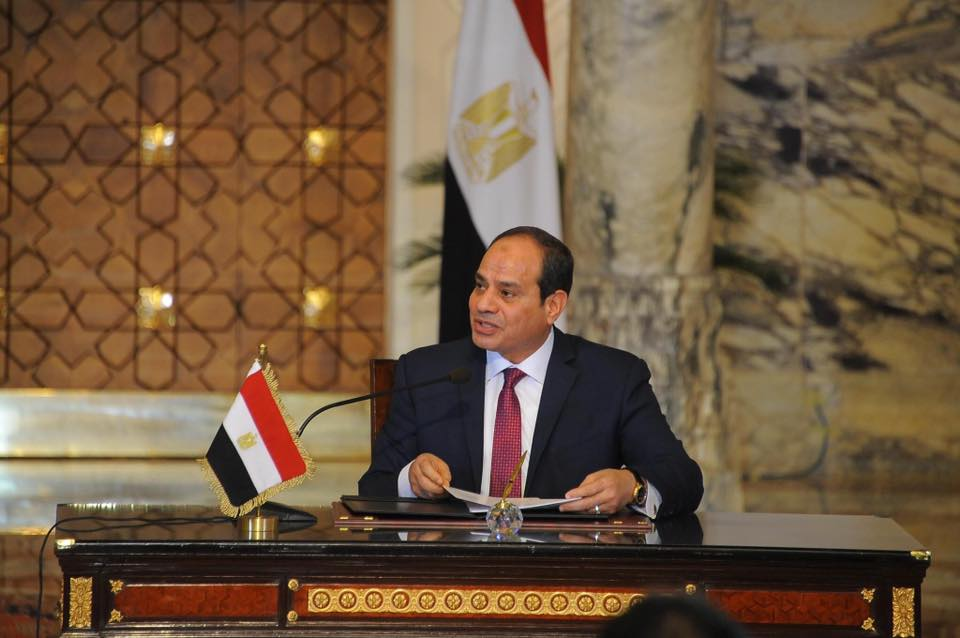 El-Sisi: The Egyptians endured harsh economic measures with the slogan
