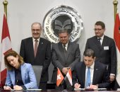 Signing 3 agreements at the end of the Egyptian-Swiss investment forum
