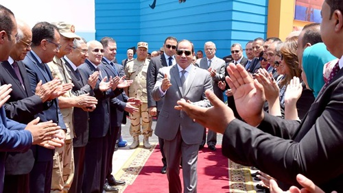 Sisi inaugurates a medical and industrial gas plant today