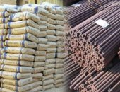 Building materials: price stability in the local market, and gypsum starts at 550 pounds per ton