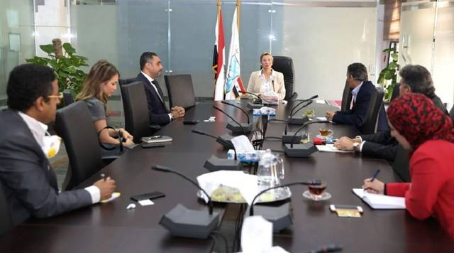 Environment discusses with Vodafone Egypt the implementation of an electronic application for waste recycling