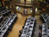 The Egyptian Stock Exchange loses 29 billion pounds in an hour .. The trading session is suspended for half an hour
