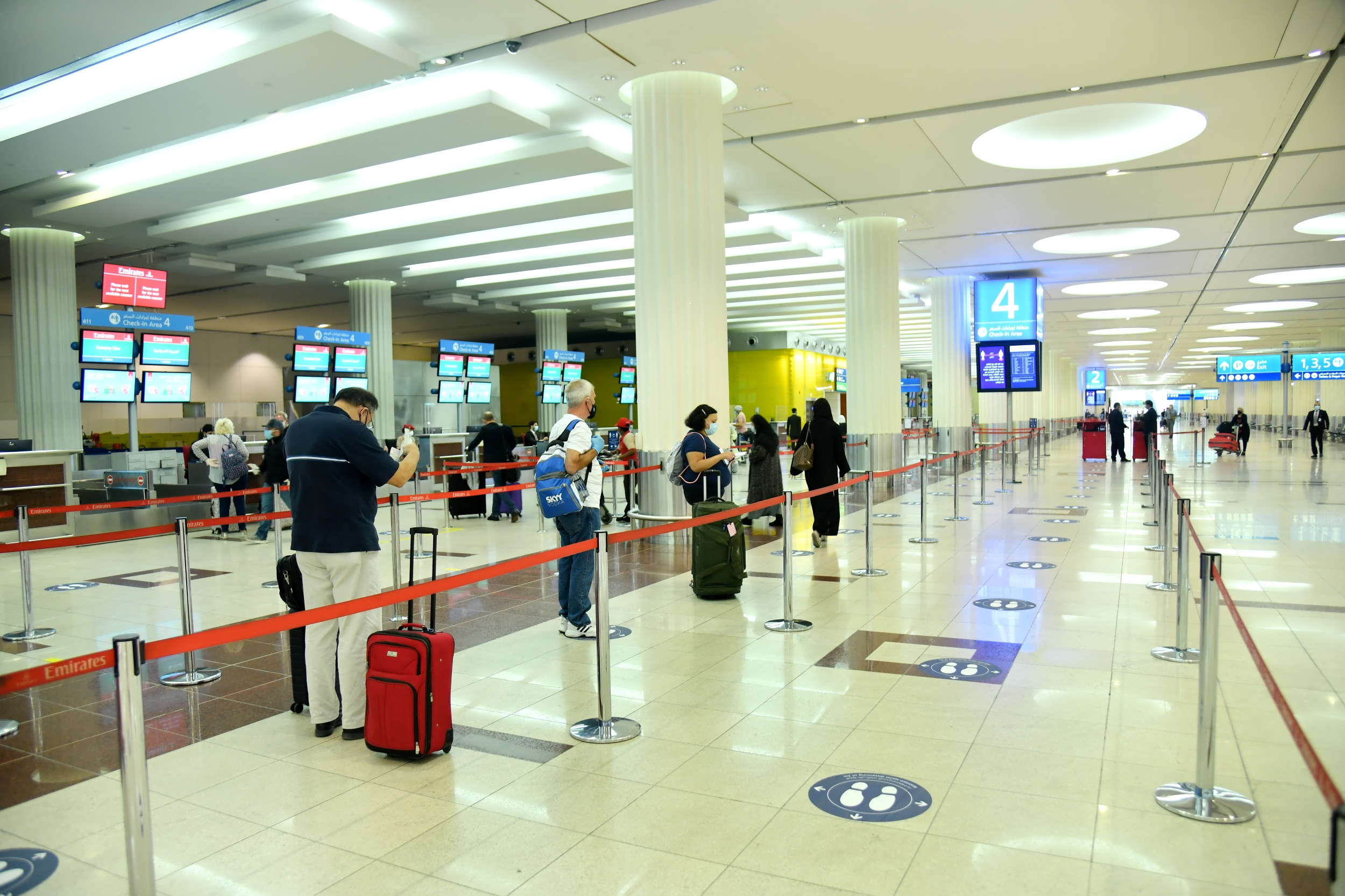 Dubai Airports: strict procedures when traveling until a vaccine or treatment is found for Corona