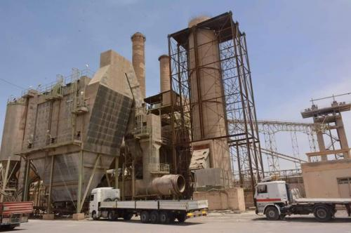 Iraqi Cement Company achieved positive ratios in the quantities of production and sales