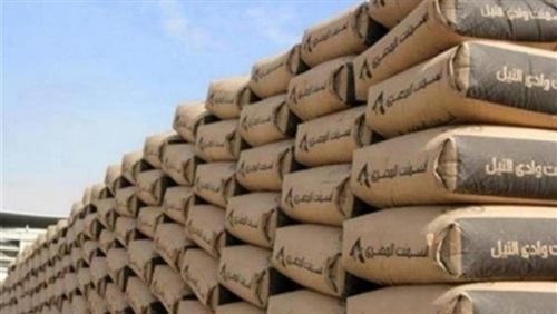 High prices of cement .. and «Sinai» record 880 pounds per ton