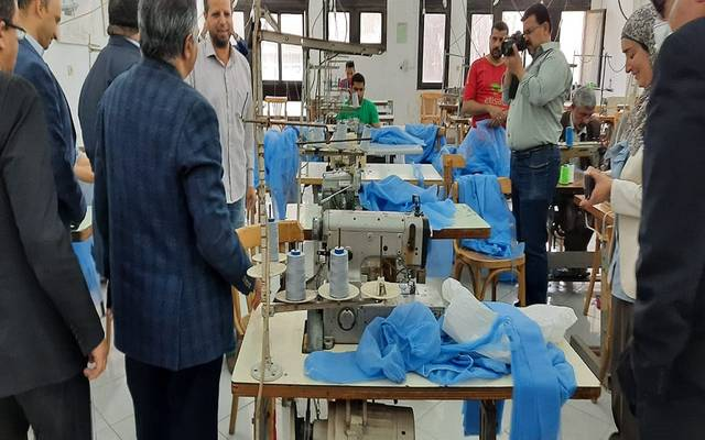 The Federation of Egyptian Industries announces the production of personal protection kits for medical teams