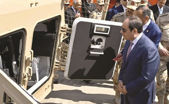 Al-Sisi opens 300 military factories and a number of new projects in military factories