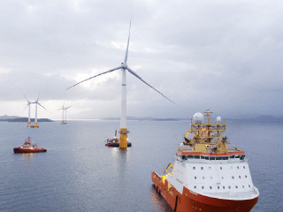 Navigating the first offshore highland offshore power station