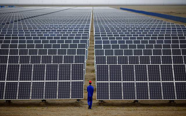 2 companies are competing to implement a 200 MW solar power plant