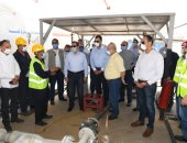 Engineer Tariq Al Mulla, Minister of Petroleum and Mineral Resources, made an inspection tour of the butane cylinder filling plant in the Katameya area of the Petrogas Company.