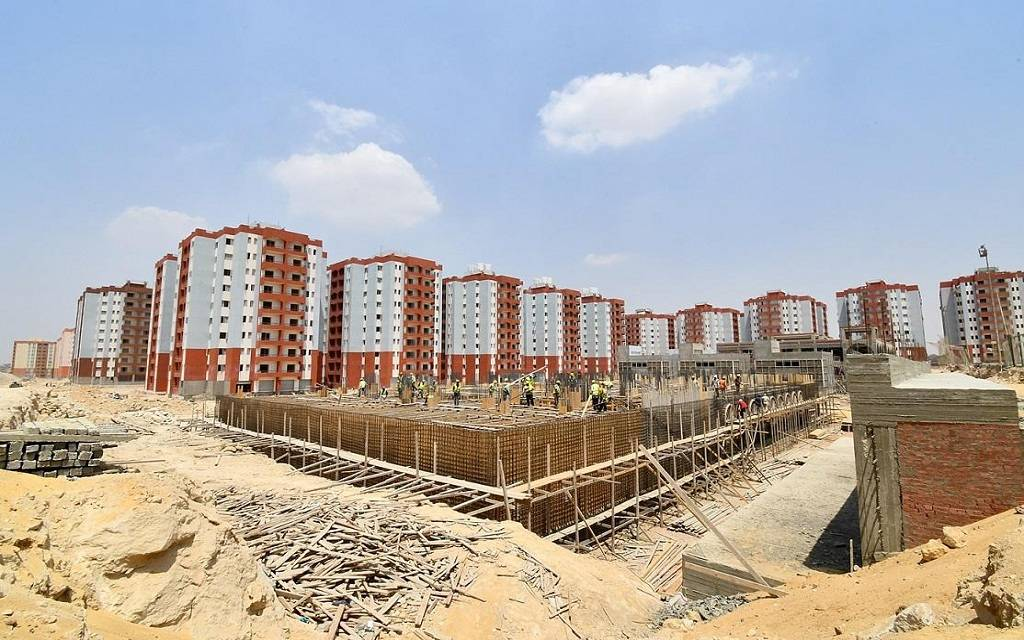 EGYPTIAN HOUSING ENDS OF 3 BRUSHES UNITS IN JUNE NEXT